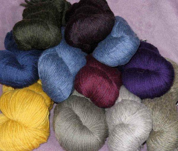 Yarn cascade