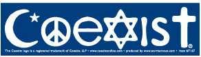 Coexist-Bumper-Sticker-(7167)