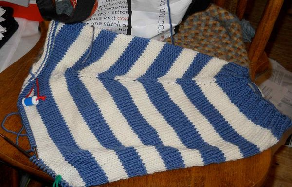 Wip percy sweater