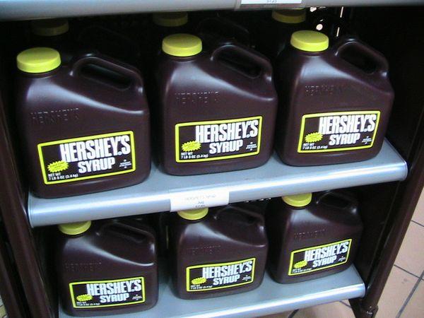 Hersheys choc syrup