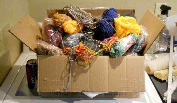 Sock yarn lots
