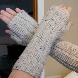 Fingerless gloves made specifically for reading in bed. I have been using them every frickin' night.