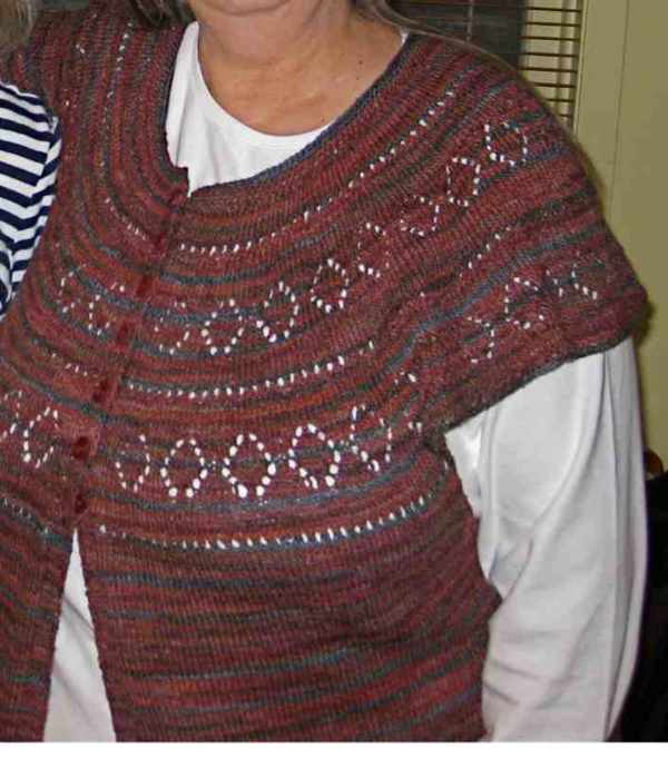 I wish it didn't take me two years to knit a sweater.