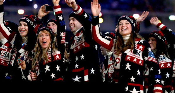 """...the sweaters...look like something your senile aunt knitted while binge listening to Toby Keith albums."""