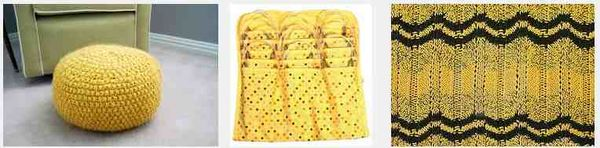 Yellow knitting 2