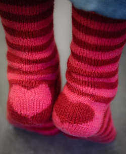 Heart socks 8