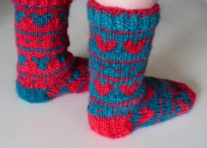Heart socks 4