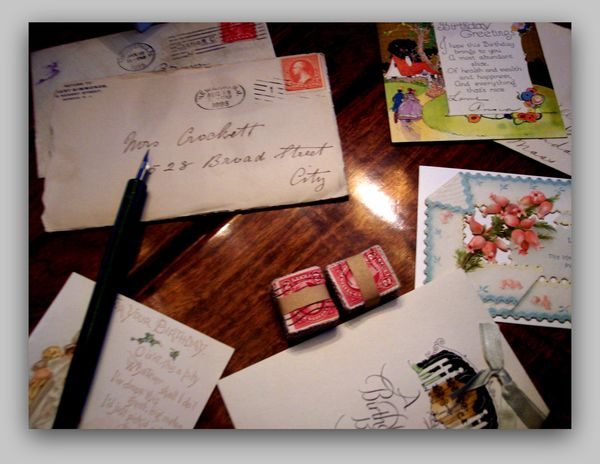 Letters vintage