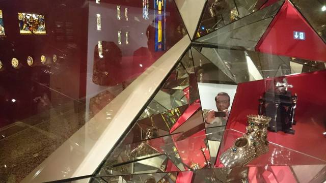 M at museum