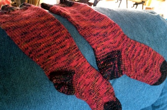 Double-thick socks #4.