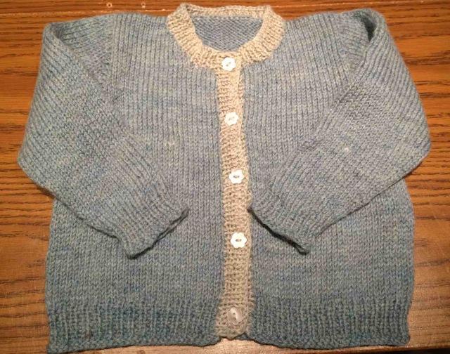 Mar child sweater
