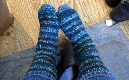Double-thick socks #5.