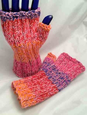 Mar fingerless pink