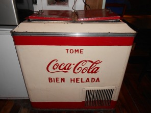 Refrig coke cooler