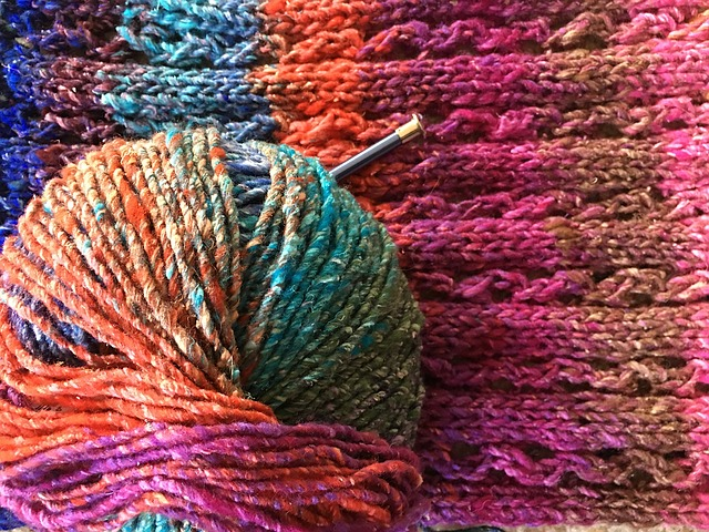 Noro and knitted fabric.jpg