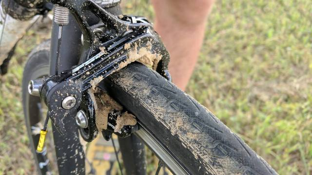 M mud on brakes