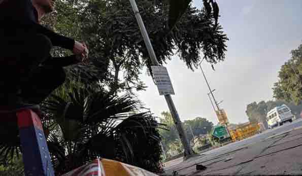 Delhi pavement
