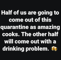 cooks vs drinking problem