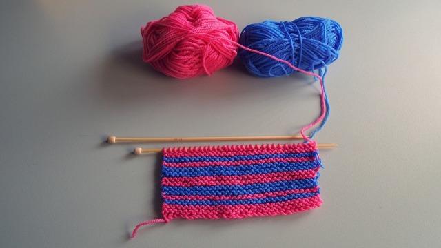 pink n purple stripes