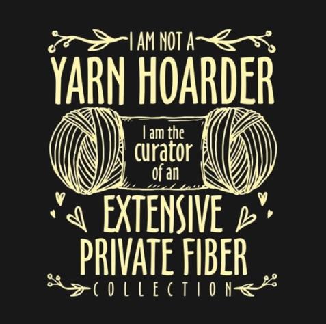 Yarn hoarder