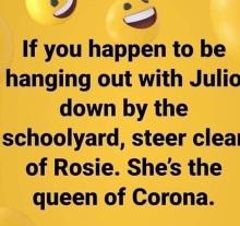 corona julie rosie