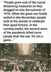 1918 social distancing