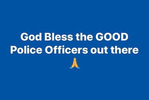bless good cops