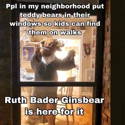 Ruth Bader Ginsbear