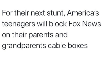 teens block fox