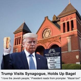 trump synagogue