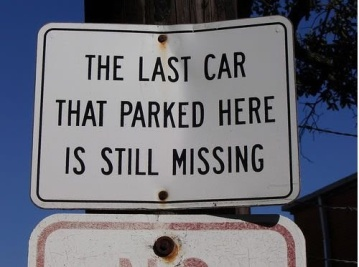 car missing