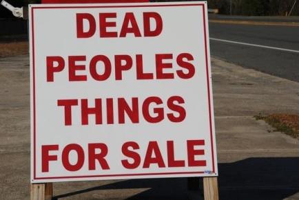 dead people stuff