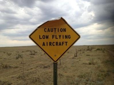 low aircraft