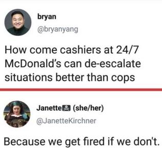 mcd cashiers